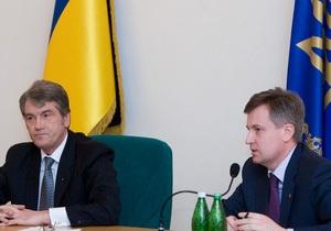 Наливайченко прокомментировал слухи о том, что он может возглавить партию Ющенко