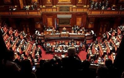 Сенат Италии проголосовал за ограничение своих полномочий