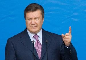 Янукович не знает, каким будет закон о мирных собраниях: Я не провидец