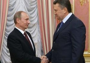 Сегодня Янукович встретиться с Путиным