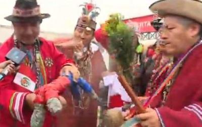 Черепаха в помощь: В Перу шаманы пытались сглазить форварда сборной Чили
