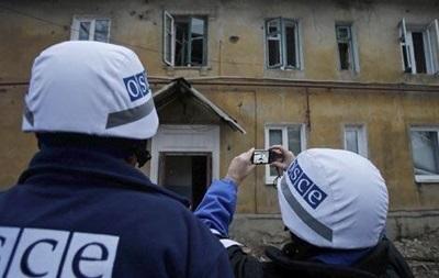 ОБСЕ: сепаратисты мешают миссии попасть на границу