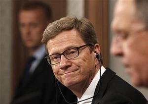 Я надеюсь, что Украина выберет путь в Европу - глава МИД Германии