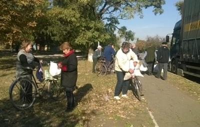 Штаб Ахметова начал доставлять гумпомощь в  серую зону  Донецкой области