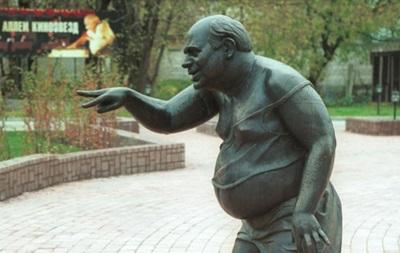 В Москве украли памятник актеру Евгению Леонову