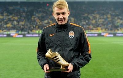 Хавбек Шахтера Виктор Коваленко получил Золотую бутсу FIFA