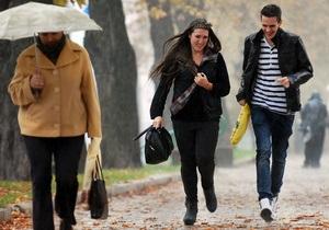 В Украине ожидается похолодание