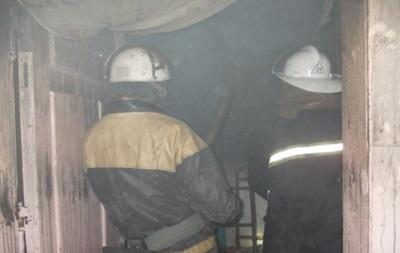 В пожаре под Киевом задохнулись пять человек