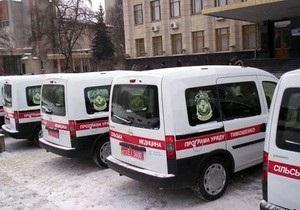 Тимошенко обещает собственноручно расклеивать на машинах скорой помощи имя Януковича