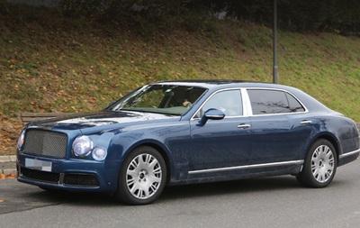Фотошпионы рассекретили обновленный Bentley Mulsanne