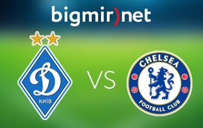 Динамо Киев - Челси 0:0 Онлайн трансляция матча Лиги чемпионов