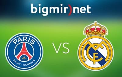 ПСЖ - Реал Мадрид 0:0 Онлайн трансляция матча Лиги чемпионов