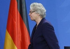 Новости Германии - Министр образования Германии Аннете Шаван - плагиат - Личность и совесть