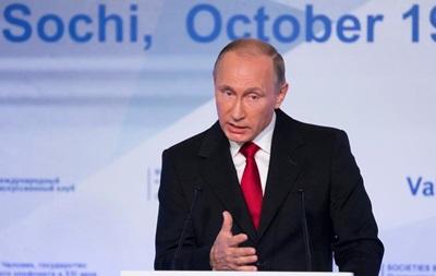 Путин считает нынешнюю ситуацию в Украине угрозой для РФ