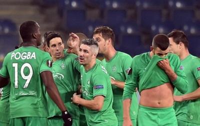 Днепропетровский Днепр проиграл Сент-Этьену в Лиге Европы
