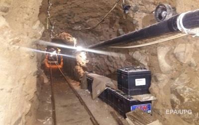 Полиция Мексики обнаружила 800-мтровый тоннель наркоторговцев