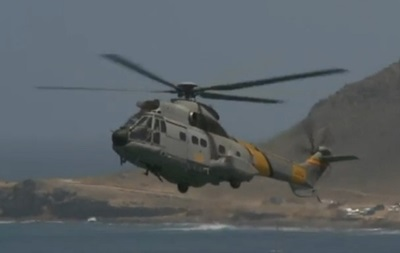 В Антлантическом океане разбился военный вертолет Испании