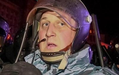 Беркутовец, разгонявший студентов, вернулся на работу в МВД