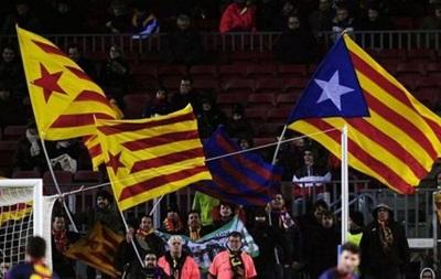Барселона будет бороться за каталонские флаги