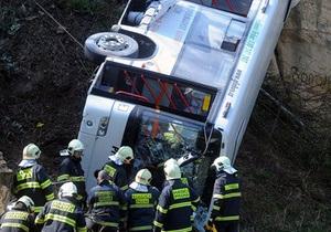 В Болгарии перевернулся автобус, восемь человек погибли