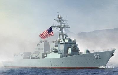 США впервые у  запретных  островов Китая