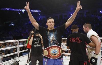 Александр Усик получил титул Интерконтинентального боксера года