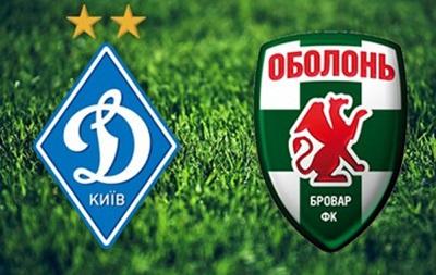 Динамо 5 – 0 Оболонь Бровар. Обзор матча смотреть онлайн