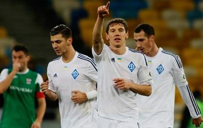 Динамо отгрузило пять  сухих  мячей в ворота Оболони