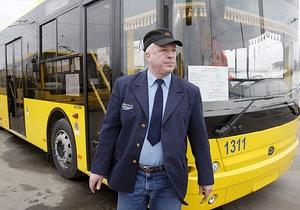 В Киеве на остановках транспорта оборудуют павильоны ожидания