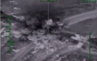 В России показали новые видео атак в Сирии