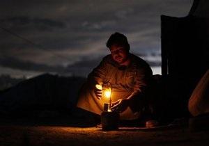Часть Подмосковья осталась без электричества