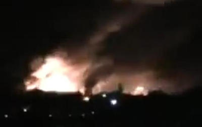 Названа предварительная причина пожара в Сватово
