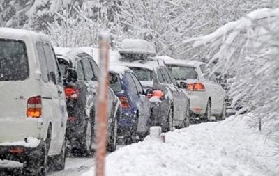 Киевляне будут получать смс о снегопадах