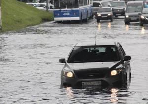 Москва - В Москве сильный ветер с дождем повалили почти 400 деревьев, есть жертвы