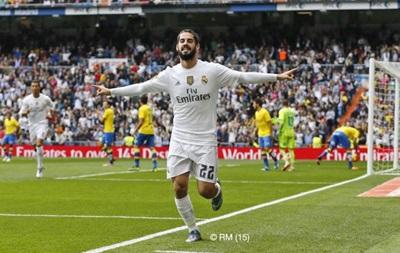 Реал уверенно обыграл Лас-Пальмас