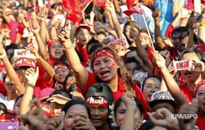 В Бирме митингуют сторонники оппозиции