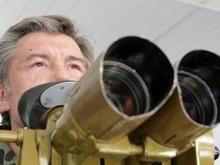 Ющенко поехал в Ровенскую область смотреть боевые действия