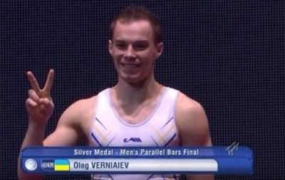 Верняев берет серебро на чемпионате мира по спортивной гимнастике