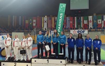 Украинские саблистки выиграли этап Кубка мира во Франции