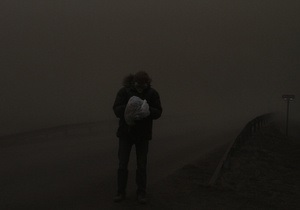 Часть Исландии почти полностью погрузилась во тьму из-за извержения вулкана