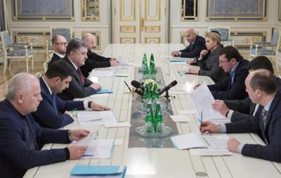 Порошенко призвал коалицию принять законопроекты о безвизовом режиме с ЕС