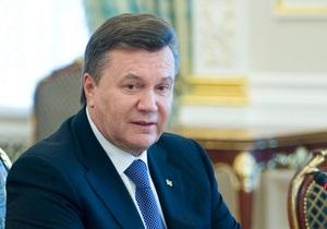 Янукович подписал закон, разрешающий создание за рубежом филиалов участников фондового рынка