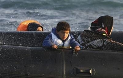 У берегов Греции затонула лодка с беженцами
