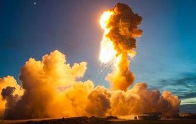 Обнародованы фотографии взрыва ракеты Antares