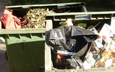 В Одессе в мусорнике нашли арсенал боеприпасов