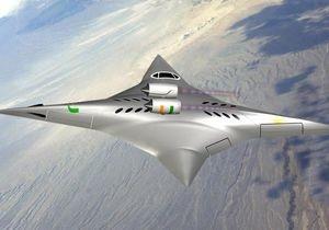 В США разрабатывают сверхзвукой самолет-звезду