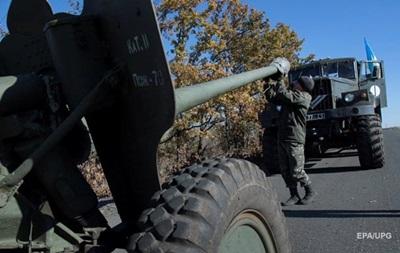 Отвод вооружений у Мариуполя завершен — штаб АТО