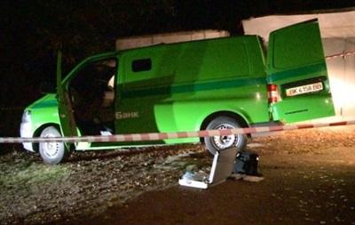 В Киеве напали на машину инкассаторов