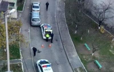 Во Львове авто патрульных из-за собаки попало в ДТП
