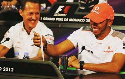 Льюис Хэмилтон: Я всегда с большим уважением относился к Шумахеру